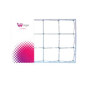 Pop-up Têxtil 4x3 Recto + Acessórios de Produção