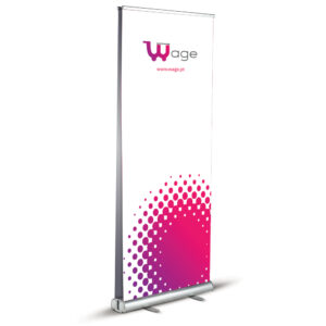 Roll-up Stand Double Side Dual 85