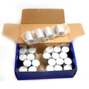 Caixa Pack 4x Unidades Afastadores Alumínio Cinza