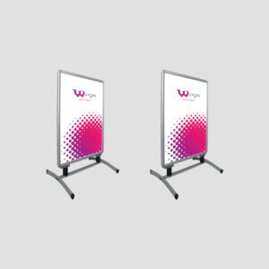 Swing Poster Stand