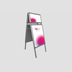A Board Plus - Snap Frame Poster 32mm (Round Corner)